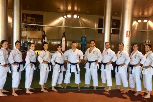 seleccion esp karate