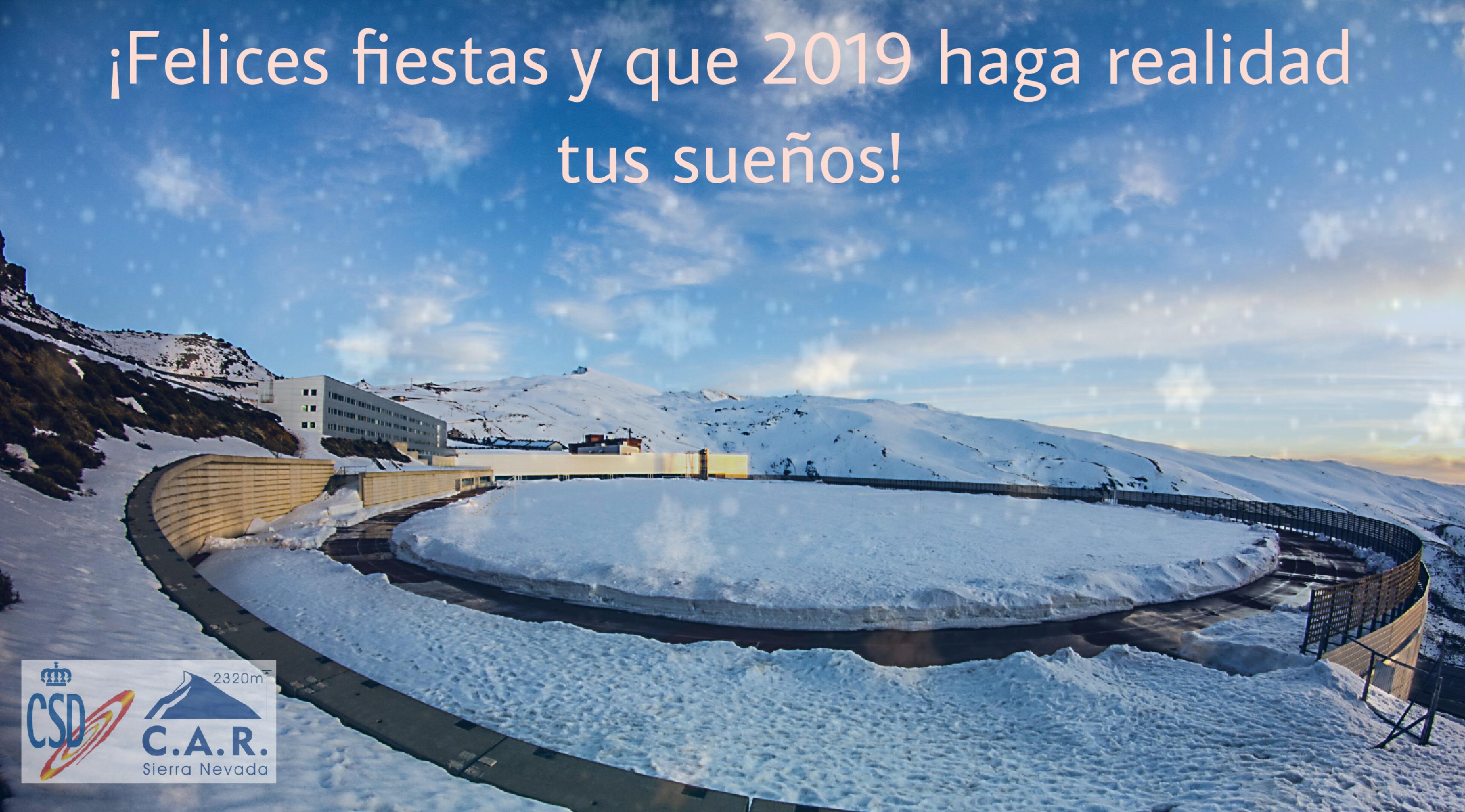 Felicitaciones Para Navidad 2019.Felicitacion Navidad 2019 C A R Sierra Nevada